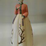 Praca ceramika, postać kobieca autor Kinga Gil