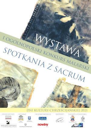 Plakat spotkania z sacrum