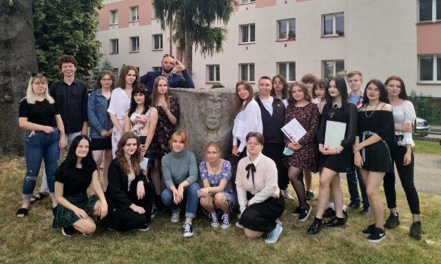 Klasa IIIB zwychowawcą Panem Tomaszem Samagalskim